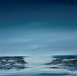 Jurmo by Lynne Timmington -  sized 39x39 inches. Available from Whitewall Galleries